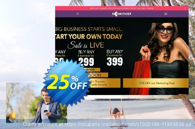 Electronics Store discount 25% OFF, 2020 July 4th offering sales