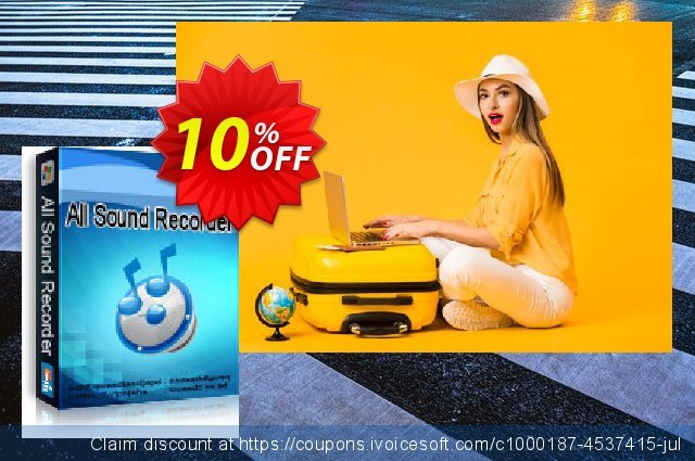 All Sound Recorder XP discount 10% OFF, 2020 Back to School coupons sales