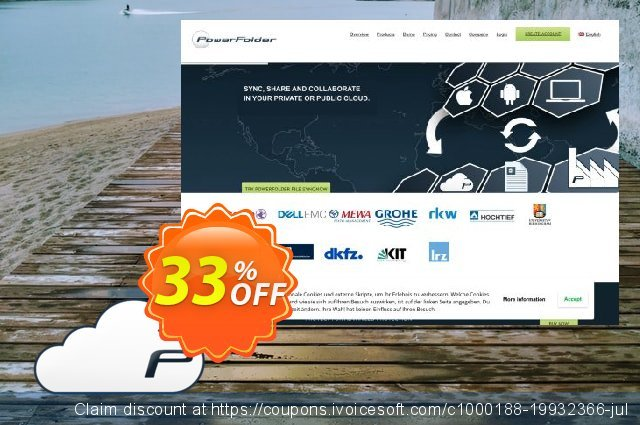 PowerFolder Cloud Subscription 200GB discount 33% OFF, 2020 Fourth of July offering discount