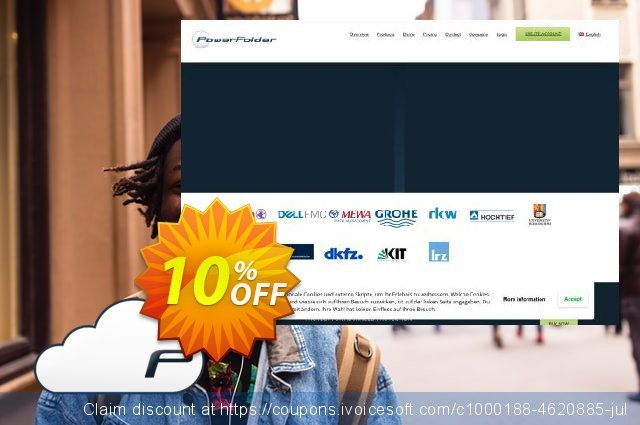 PowerFolder Cloud Subscription discount 10% OFF, 2019 Exclusive Teacher discount promotions