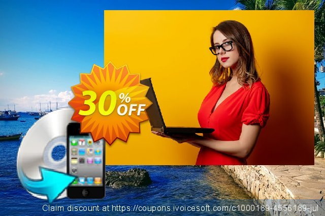 Enolsoft DVD to iPhone Converter discount 30% OFF, 2019 Back to School offer offering sales
