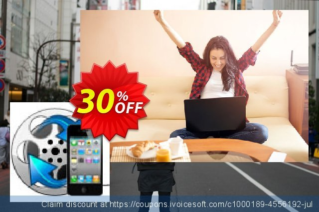 Enolsoft Video to iPhone Converter discount 30% OFF, 2020 Summer offering sales