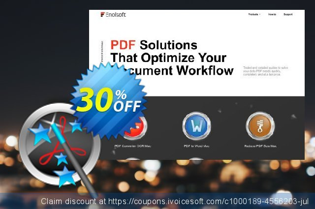 Enolsoft PDF Magic for Mac discount 30% OFF, 2019 Thanksgiving offering sales