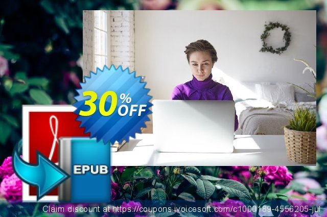Enolsoft PDF to EPUB for Mac discount 30% OFF, 2019 Black Friday offering sales