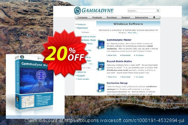Gammadyne Mailer discount 20% OFF, 2020 Back to School Promos offering discount