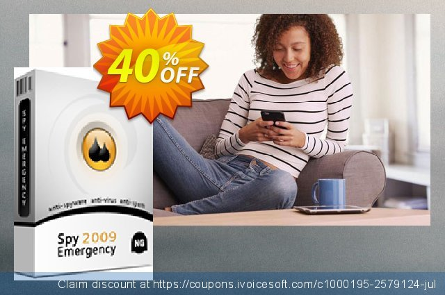 Spy Emergency - 2 Years discount 40% OFF, 2020 New Year's Day promotions