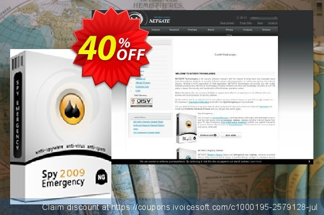 Spy Emergency - License renewal for 2 years discount 40% OFF, 2020 April Fools' Day offering deals