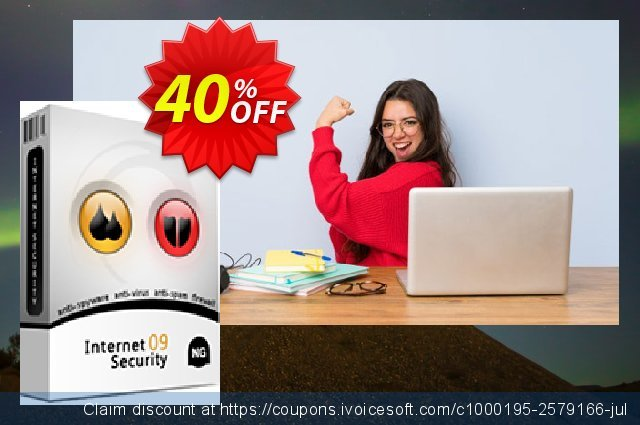 NETGATE Internet Security - 2 Years discount 40% OFF, 2020 New Year's Day discount