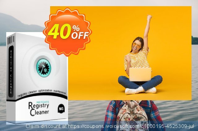 NETGATE Registry Cleaner - Unlimited Lifetime license (for 5 PC) discount 40% OFF, 2019 Christmas & New Year offering deals