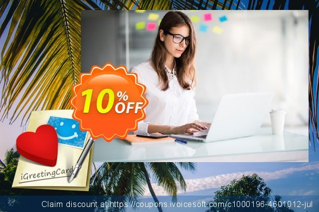 iGreetingCard for Mac discount 10% OFF, 2020 Back to School promo offering deals
