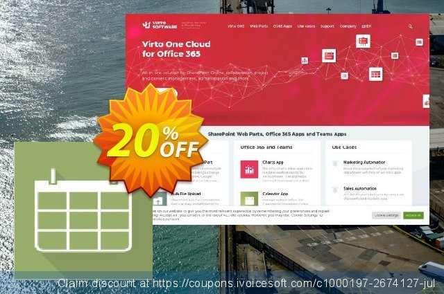 Dev. Virto Calendar for SP2007 discount 20% OFF, 2021 Spring offering sales