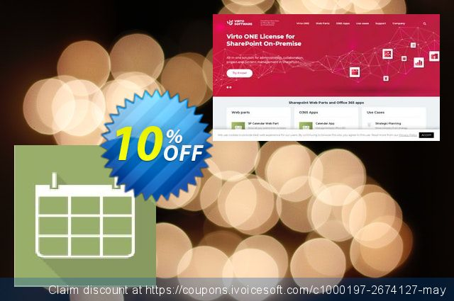 Dev. Virto Calendar for SP2007 discount 10% OFF, 2019 Thanksgiving offering discount
