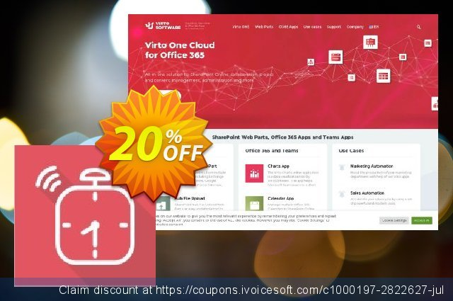 Virto Alert & Reminder for SP2007 discount 10% OFF, 2020 Halloween promotions