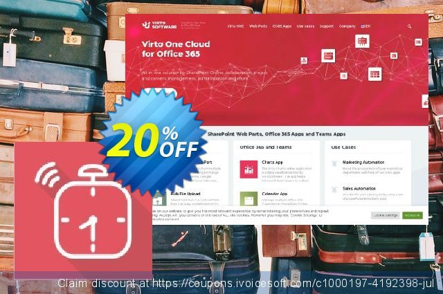 Virto Alert & Reminder for SP2010 discount 10% OFF, 2020 Teacher deals offer
