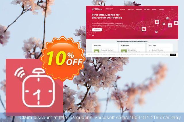 Dev. Virto Alert & Reminder for SP2010 discount 10% OFF, 2019 Halloween promotions