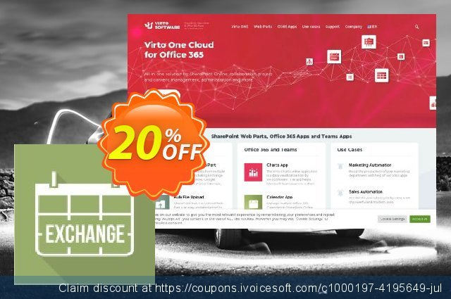 Virto Calendar Pro Exchange for SP2010 discount 10% OFF, 2019 Halloween offering sales