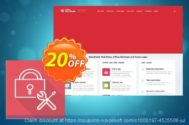 Dev. Virto Password Reset Web Part for SP2010 discount 10% OFF, 2020 Thanksgiving Day offering discount