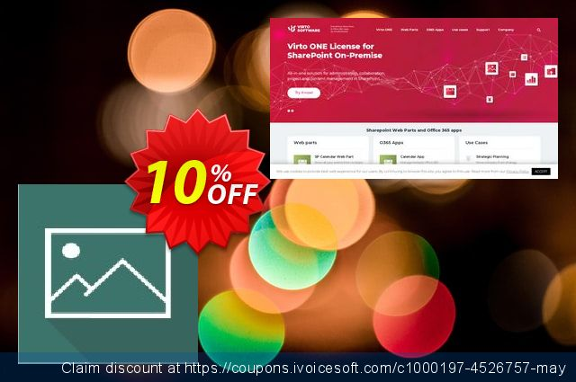 Dev. Virto Image Slider Web Part for SP2007 discount 10% OFF, 2020 Exclusive Teacher discount promotions