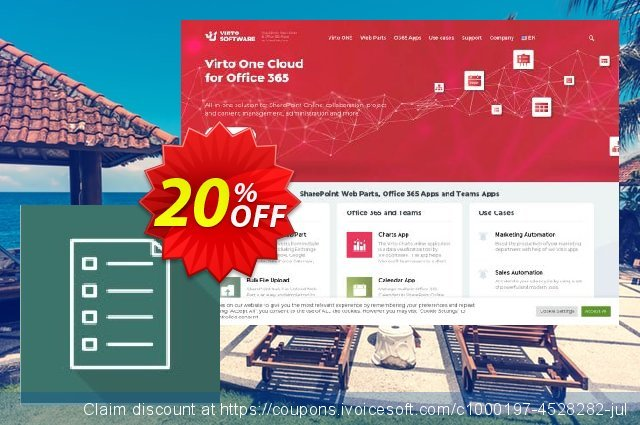 Virto List Form Designer for SP2007 discount 10% OFF, 2019 4th of July offer