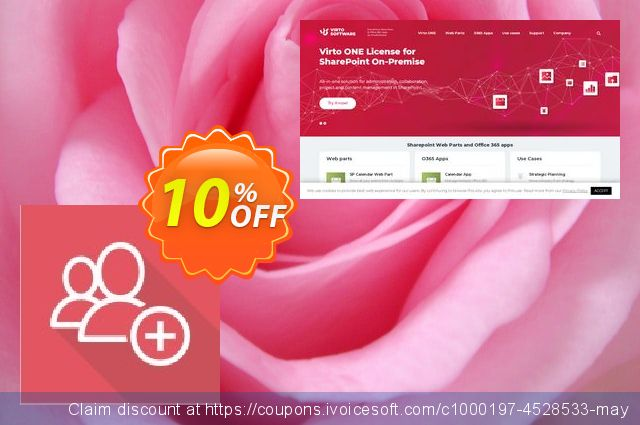 Dev. Virto Create & Clone AD User for SP2010 discount 10% OFF, 2020 Back to School event promo sales