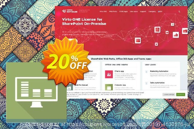 Virto Pivot View PRO for SP2007 discount 10% OFF, 2019 Exclusive Student deals promotions