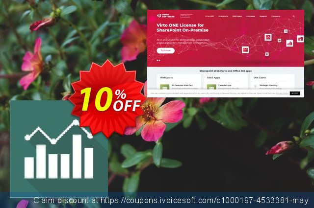 Dev. Virto Jquery Charts for SP2007 discount 10% OFF, 2019 Fourth of July offering sales