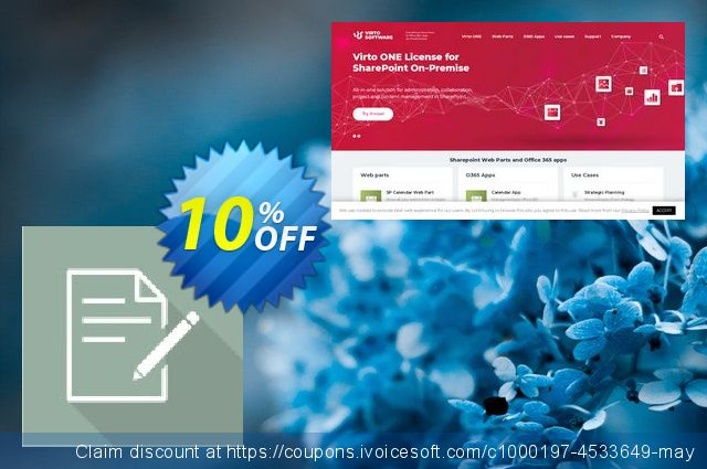 Dev. Virto Bulk Data Edit for SP2007 discount 10% OFF, 2019 College Student deals offering sales