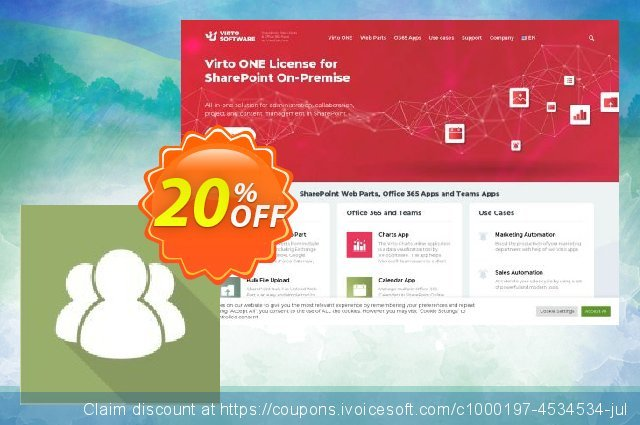 Virto Collaboration Suite for SP2007 discount 10% OFF, 2020 Happy New Year offering sales