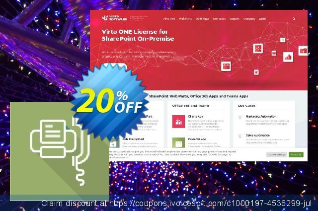 Virto Incoming Fax Feature for SP2010 discount 20% OFF, 2021 Labour Day promotions. Virto Incoming Fax Feature for SP2010 awful deals code 2021