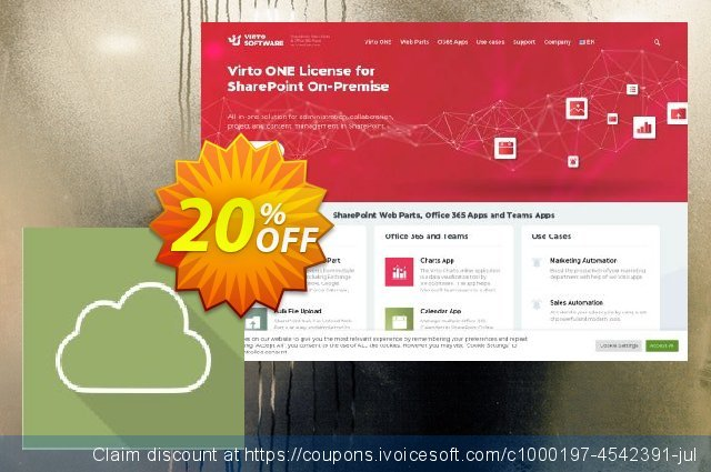 Virto Tag Cloud Web Part for SP2010 discount 10% OFF, 2020 Back to School promotion offering sales