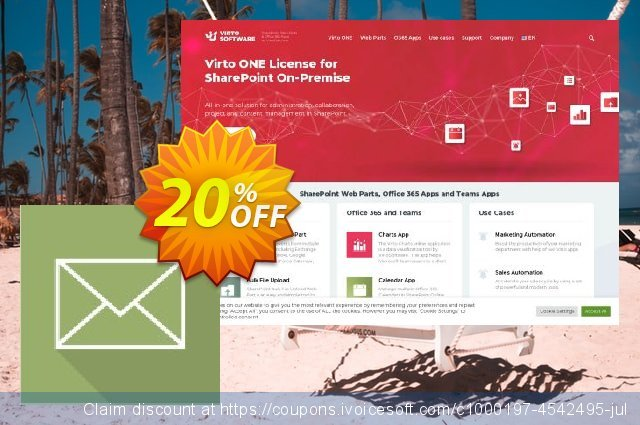 Dev. Virto Incoming Email Feature for SP2010 discount 20% OFF, 2021 All Saints' Eve offering deals. Dev. Virto Incoming Email Feature for SP2010 awesome offer code 2021