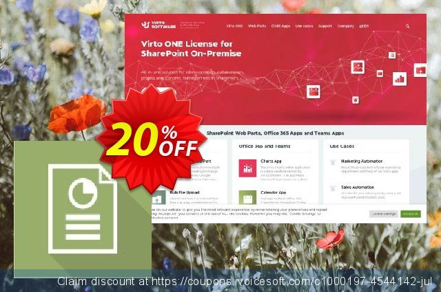 Virto Resource Utilization Web Part for SP2007 discount 10% OFF, 2019 Exclusive Student deals promotions
