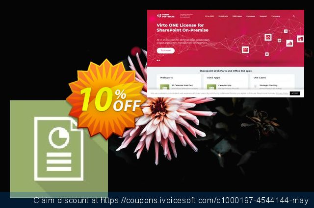 Dev. Virto Resource Utilization Web Part for SP2007 discount 10% OFF, 2019 Exclusive Student discount deals