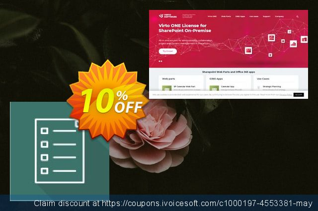Dev. Virto List Form Designer for SP2010 discount 10% OFF, 2020 Back to School coupons discount