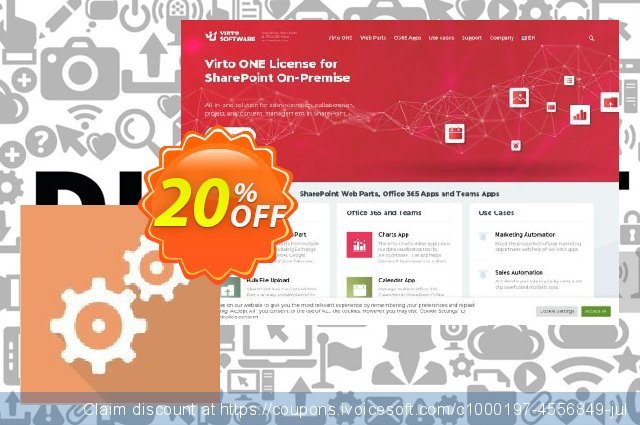 Dev. Virto Workflow  Suite for SP2010 discount 20% OFF, 2021 Magic Day offering sales. Dev. Virto Workflow  Suite for SP2010 amazing promotions code 2021