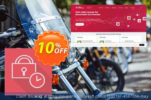 Dev. Virto Password Expiration Web Part for SP2007 discount 10% OFF, 2019 Student deals offering sales