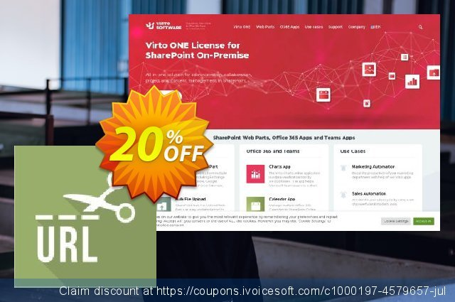 Virto URL Shortener for SP2010 discount 10% OFF, 2019 University Student offer discount