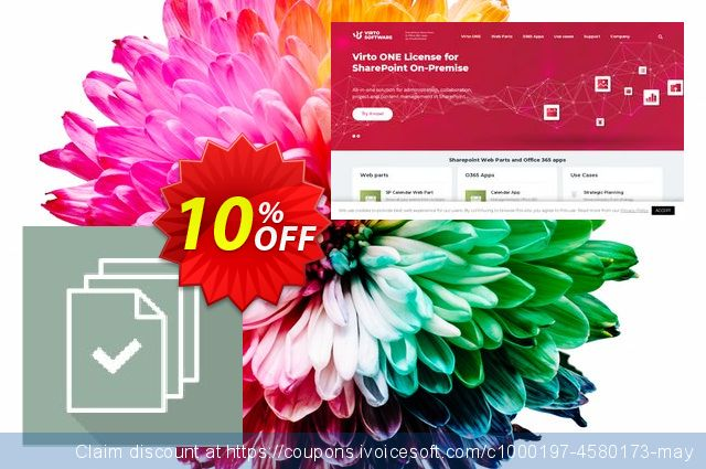 Dev. Virto Bulk Check-in & Approve for SP2013 discount 10% OFF, 2019 Summer offering discount