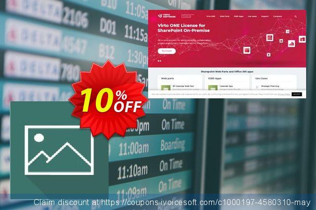 Dev. Virto Image Slider for SP2013 惊人的 产品销售 软件截图