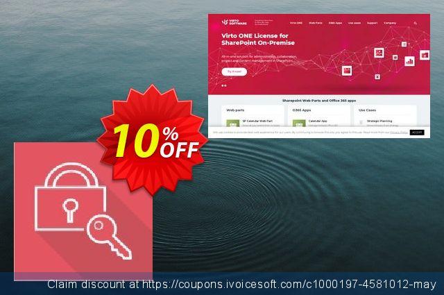 Dev. Virto Password Change Web Part for SP2013 discount 10% OFF, 2020 Halloween offering sales