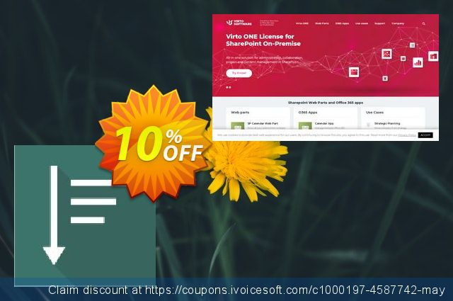 Dev. Virto List Menu Web Part for SP2010 discount 10% OFF, 2019 Christmas Day offering sales