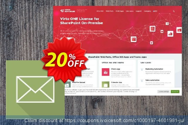 Dev. Virto Incoming Email Feature for SP2013 discount 20% OFF, 2021 Immigrants Day discount. Dev. Virto Incoming Email Feature for SP2013 formidable offer code 2021