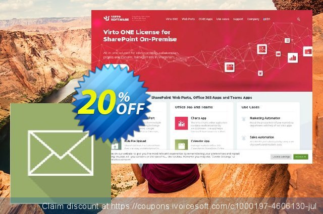 Dev. Virto Incoming Email Feature for SP2007 discount 20% OFF, 2021 All Saints' Eve offering sales. Dev. Virto Incoming Email Feature for SP2007 super sales code 2021