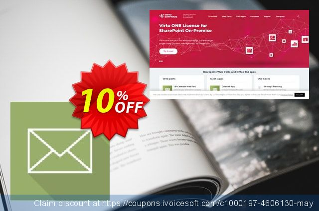 Dev. Virto Incoming Email Feature for SP2007 discount 10% OFF, 2019 Halloween offering sales