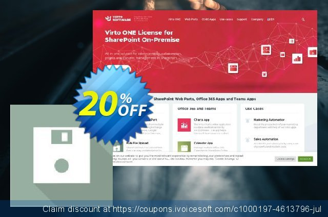Dev. Virto Bulk Files Operation ToolKit for SP2013 discount 10% OFF, 2020 Thanksgiving Day deals