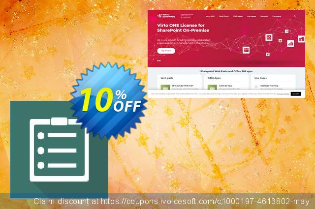 Dev. Virto Content Management Suite for SP2010 discount 10% OFF, 2019 4th of July discount