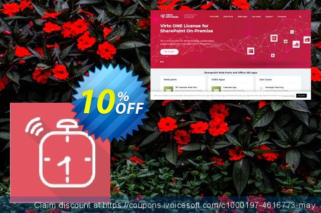Dev. Virto Alert & Reminder for SP2013 discount 10% OFF, 2019 Summer offering sales