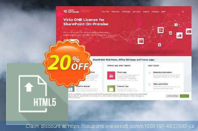 Dev. Virto Html5 File Upload for SP2013 discount 20% OFF, 2021 Handwashing Day offer. Dev. Virto Html5 File Upload for SP2013 awesome promotions code 2021