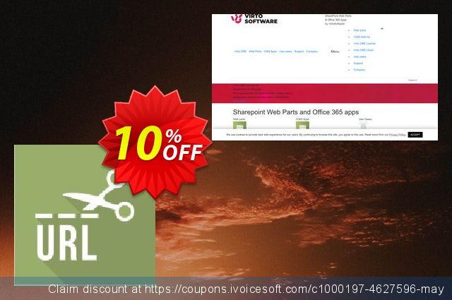 Dev. Virto URL Shortener for SP2013 discount 10% OFF, 2019 Fourth of July discount
