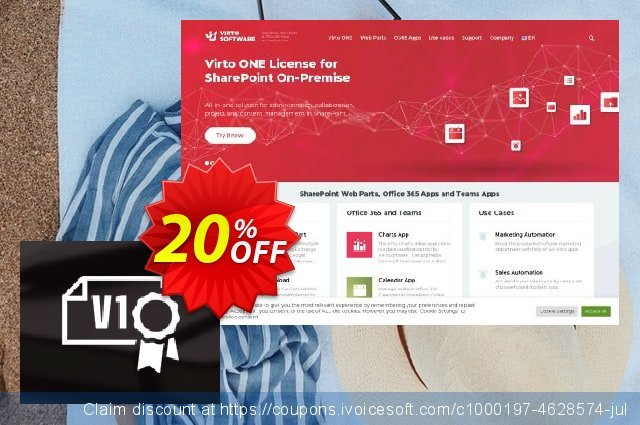 Dev. Virto ONE License for SharePoint 201X discount 20% OFF, 2021 Columbus Day offering sales. Dev. Virto ONE License for SharePoint 201X wondrous offer code 2021